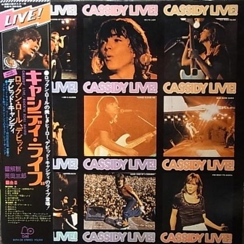 【LP】DAVID CASSIDY/Cassidy Live
