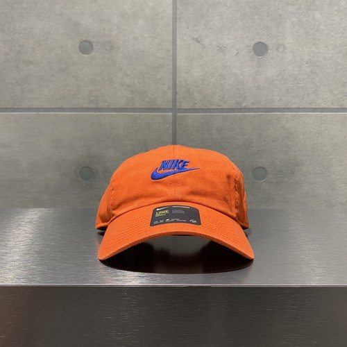 NIKE H86 FUTURA WASHED CAP / ORANGE