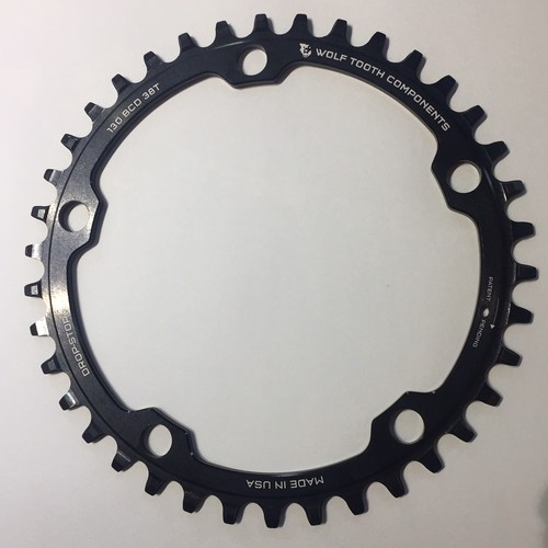 WOLF TOOTH / 130 BCD Road / Cyclocross Chainrings 38T