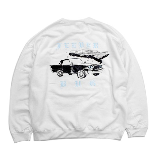 FEEVERBUG / CAR CLUB CREW NECK SWEAT