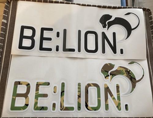 BE:LION. カッティングステッカー サイズL