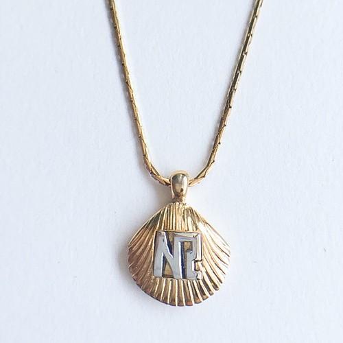 """NINA RICCI"" shell necklace[n-221]"