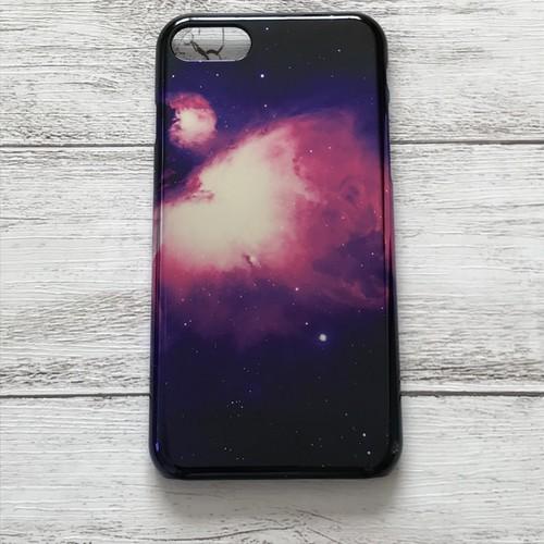 #000-068M iPhoneケース おしゃれ 綺麗 iPhone7/8 メタリック ケース おすすめ 宇宙 タイトル:オリオン星雲
