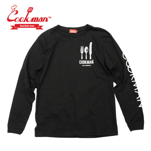 (クックマン)Cookman Long sleeve T-shirts 「Flag」