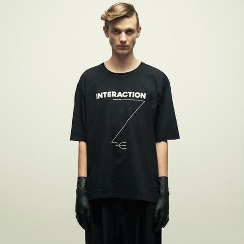 "WIZZARD PRINT CUTSEW ""INTERACTION"""