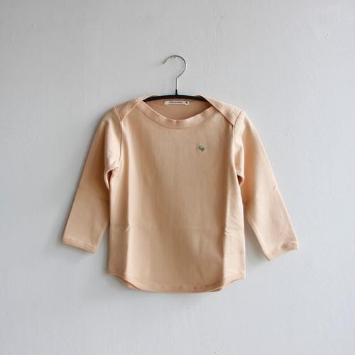 《mina perhonen 2020AW》zutto 長袖カットソー / pink beige / 80-100cm