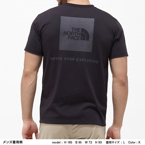 THE NORTH FACE ノースフェイス S/S SQUARE LOGO TEE