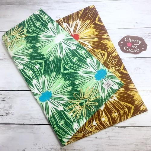 ランチョンマット リバーシブル アフリカンテキスタイル(日本縫製) lm-8 アフリカ エスニック ガーナ布