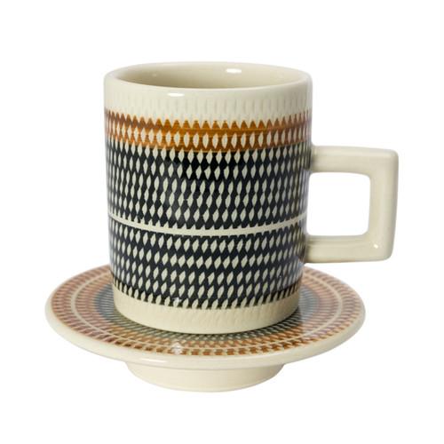 T-kamna コーヒーカップ&ソーサーS ブラック