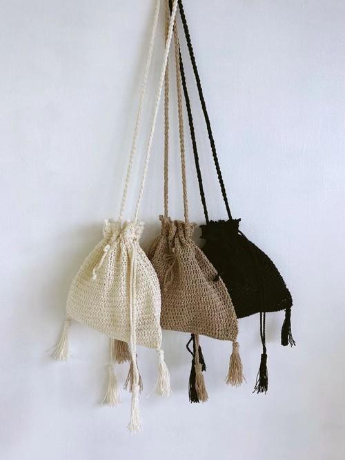 Bilitis dix-sept ans (ビリティス・ディセッタン)    Crochet Shoulder Bag