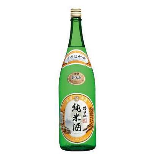 朝日山 純米酒 1.8L(1800ml)瓶[新潟県・朝日酒造]
