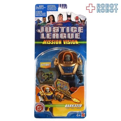 マテル ジャスティスリーグ ミッションヴィジョン ダークサイド アクションフィギュア