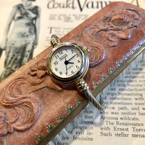 80's BIJOUX TERNERヴィンテージクオーツ腕時計