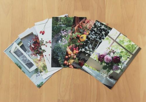 【10セット】ガーデンダイアリーポストカード