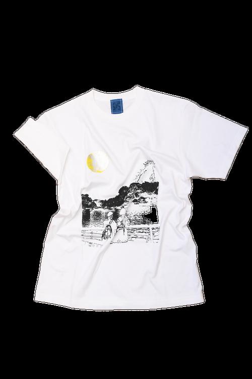 NO.515 吉祥寺井の頭公園のTシャツ【東京】【Lサイズ】