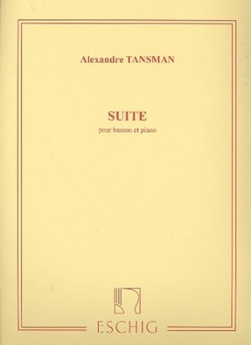 タンスマン:組曲 / ファゴット・ピアノ