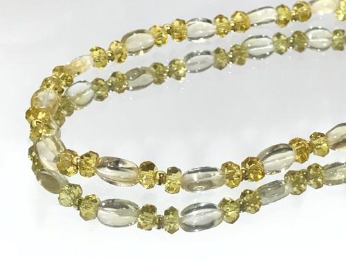 黄金の輝き ネックレス