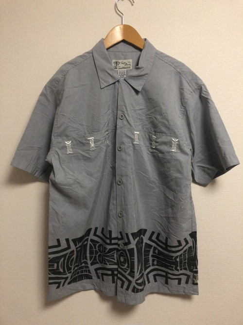 2000's Tiki S/S hawaiian shirt