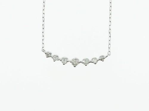 【宝石鑑別書】0.08ct UP ダイヤモンドネックレス PT900