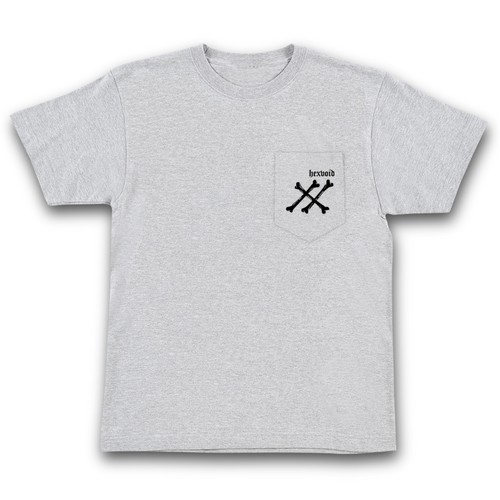 """BONE"" GRAY [POCKET S/S T-SHIRT]"