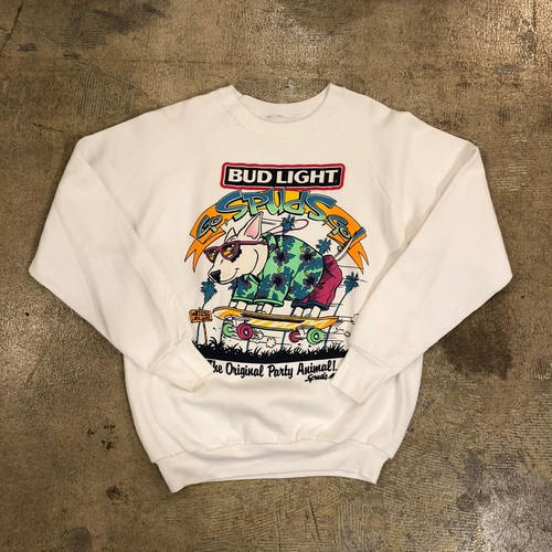 BUD LIGHT 80s Spuds Skate Sweat Shirt ¥8,900