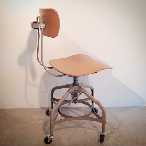 Toledo metal furniture co. / factory chair