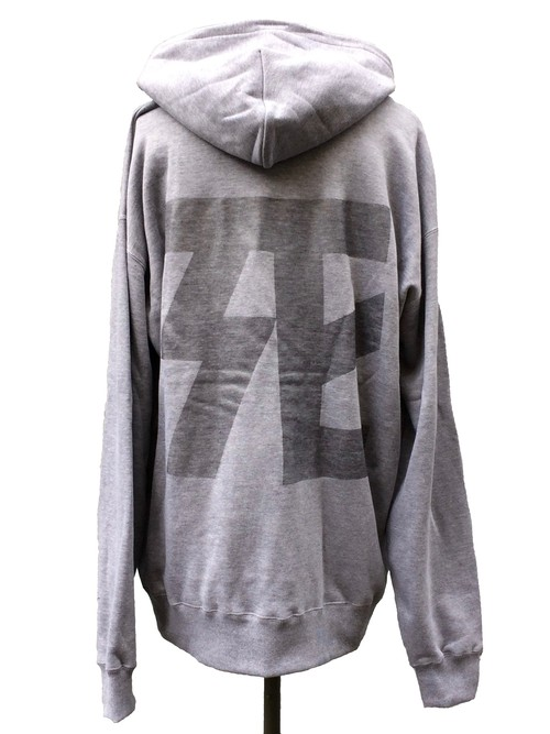 DEATH COLLABORATION OVER SIZE HOODIE [ normal ver. ]- HEATHER GLAY -