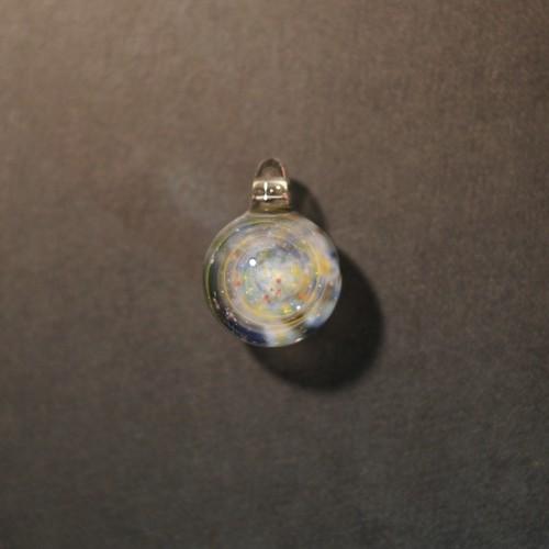 starburst galaxy aurora M pendant