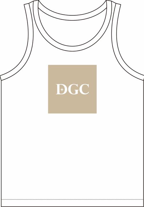 DGCオリジナルTシャツ2・タンクトップ(ベージュ)