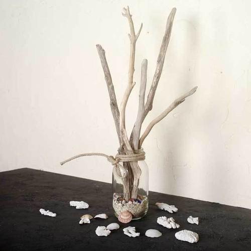 流木の小枝でオーナメント-2