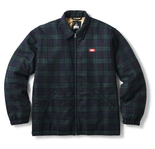 FTC (エフティーシー) / WOOL HARRINGTON JACKET -PLAID-