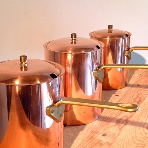 vintage フランスの銅鍋