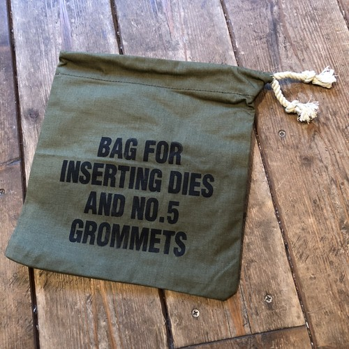 US Military Tent Cloth Pouch, Dead Stock
