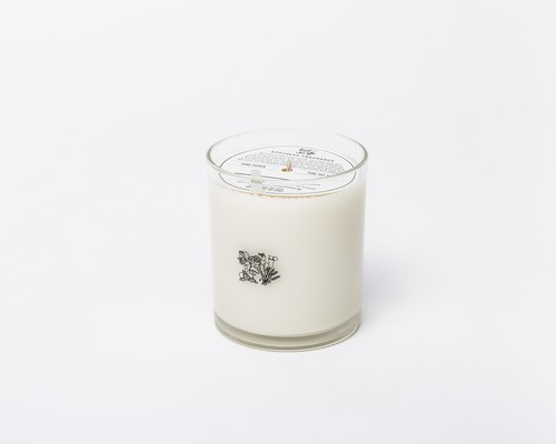 GLASS CANDLE / 24K Rose
