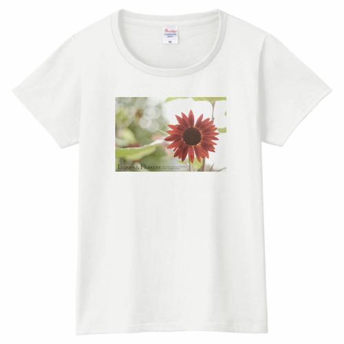 Leaves & Flowers レディースTシャツ 5.6oz