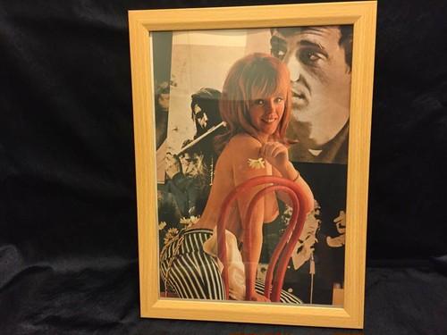 PLAYBOY グラビア 1960年代 ポスター 新品額付き