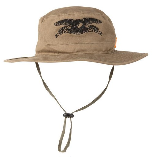 ANTIHERO Basic Eagle Boonie Hat Olive Black
