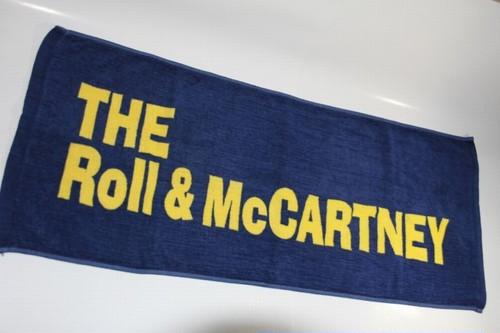 THE Roll&McCARTNEYオフィシャルフェイスタオル