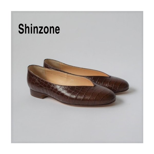 THE SHINZONE/シンゾーン・V-CUT ROUND TOE