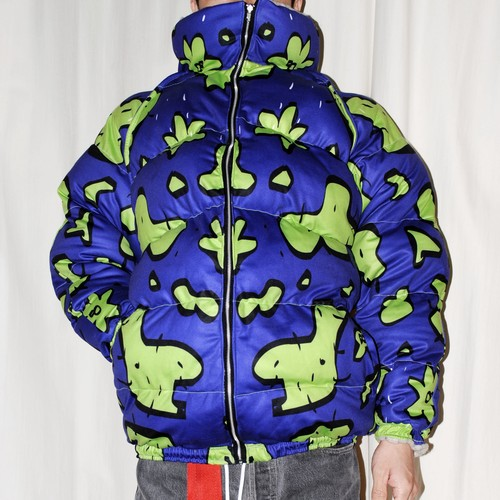 Lactose Intoler-art(ラクトス) 1off puffy Jacket