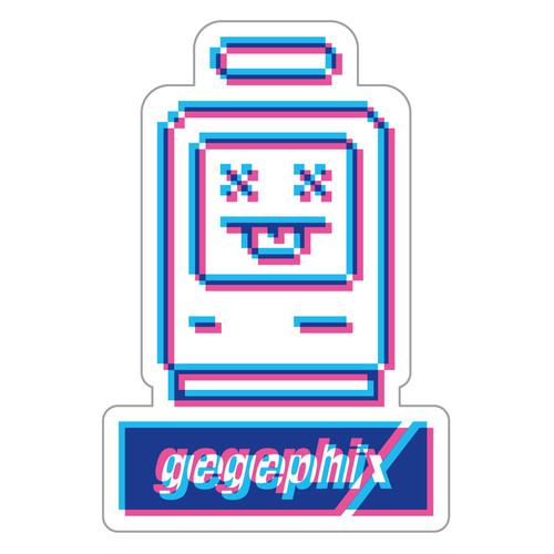 """See New World"" gegephix Sticker"
