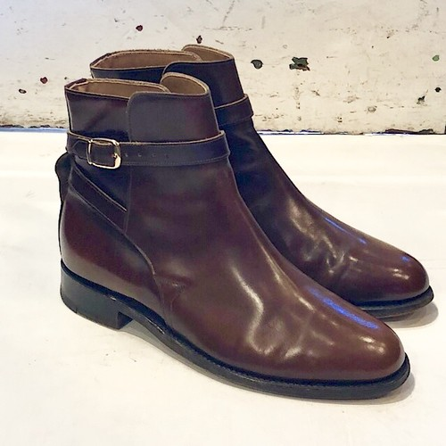 New & Lingwood Jodhpur Boot Brown UK7.5 Made In England