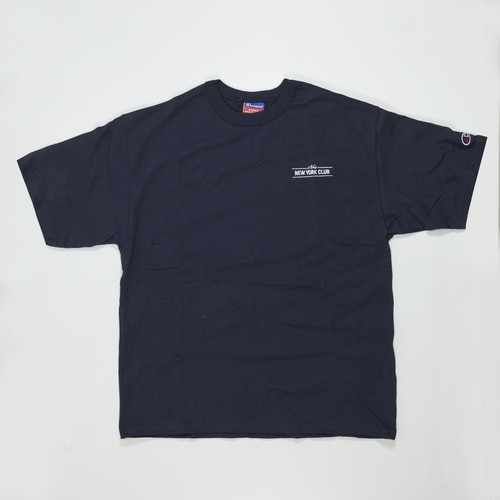 NEW NEW YORK CLUB Champion 7oz HERITAGE JERSEY TEE  NAVY