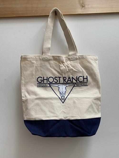【トートバッグ】Ghost Ranch Canvas Tote Bag(ネイビー)