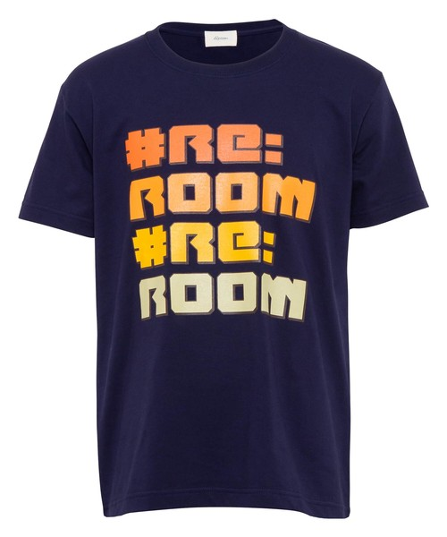 POP LOGO PRINT T-shirt[REC370]