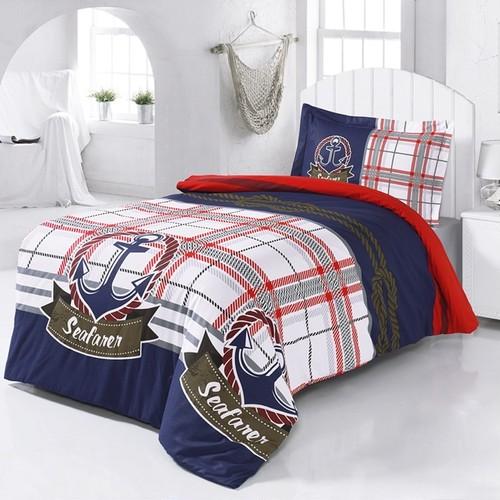 ANCHOR シングルベッドカバーセット