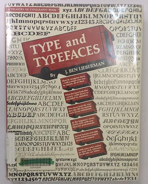 (洋書) TYPE and TYPEFACES