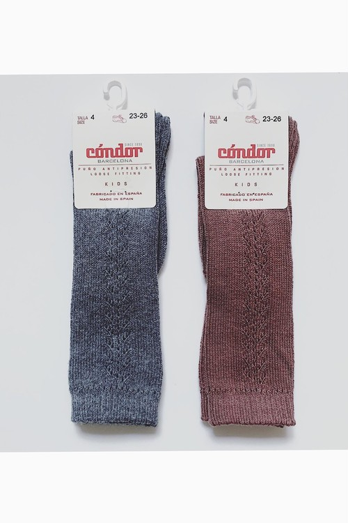 condor side openwork high socks