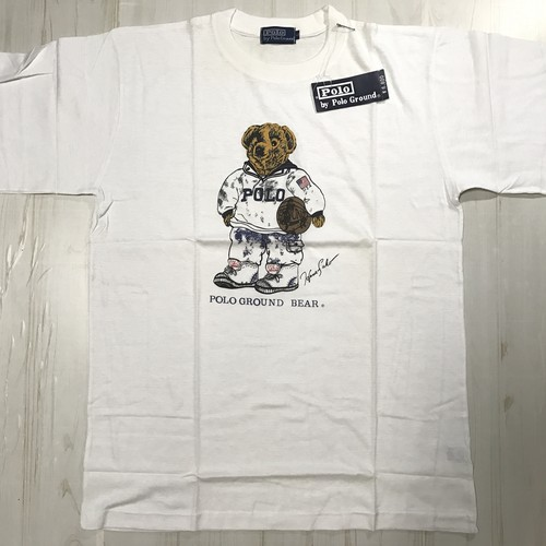 〇90s デッドストック〇bootleg POLO BEAR T-shirt
