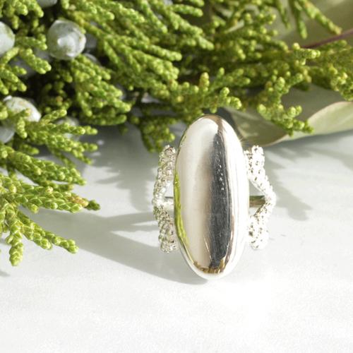 《受注制作》Mimosa ring #15 / SV925 /